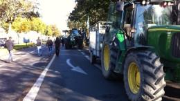 Manifestation agriculteur rouen