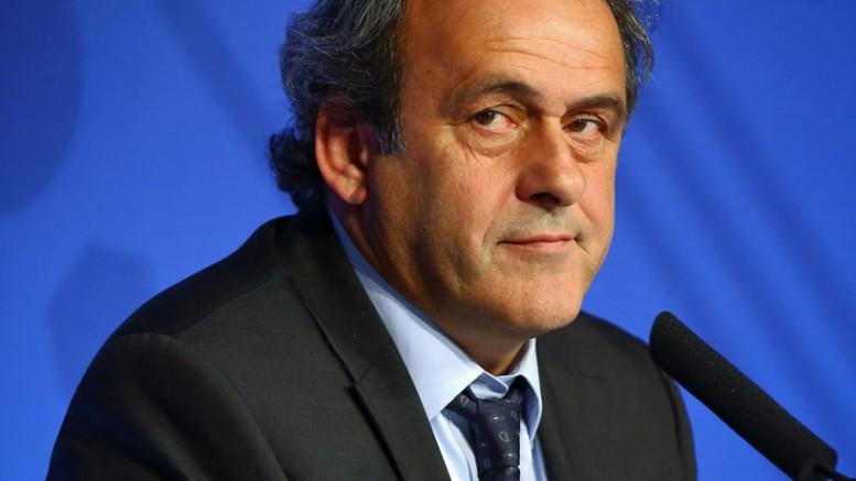 Michel Platini (President UEFA) suspendu