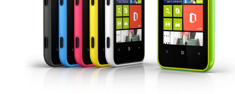 La gamme des smartphone Microsoft Lumia