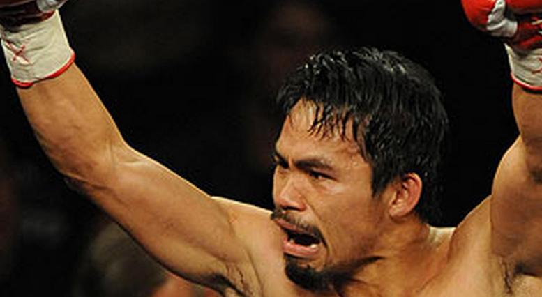 Manny Pacquiao le champion du monde de boxe