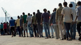 Les migrants arrivant en Europe