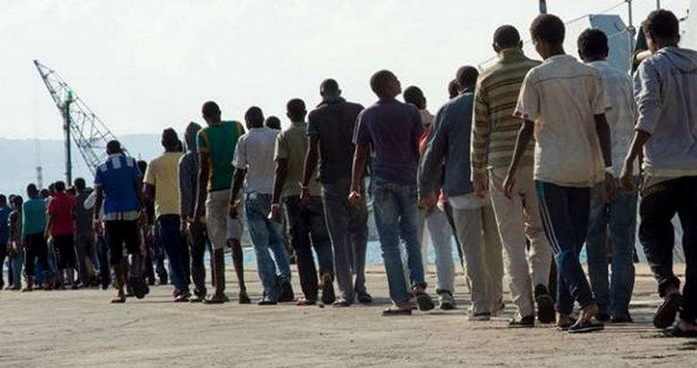 Les migrants arrivant en Europe