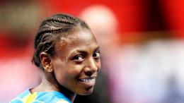 L'athlète éthiopienne lors d'une compétition