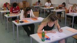 La fin des examens
