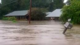 Les inondations en Louisiane