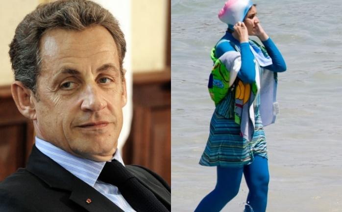 Nicolas Sarkozy et le burkini