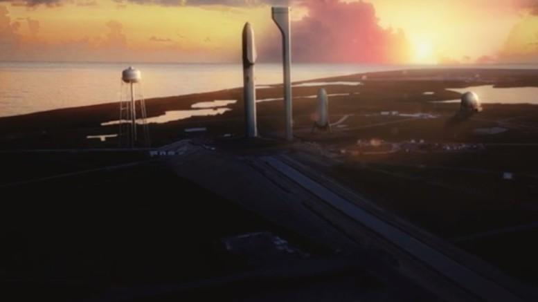 Le vaisseau d'Elon Musk