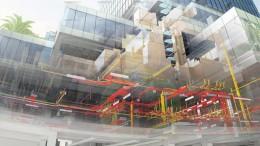 Un bâtiment modélisé