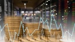 Piles de monnaie et graphiques